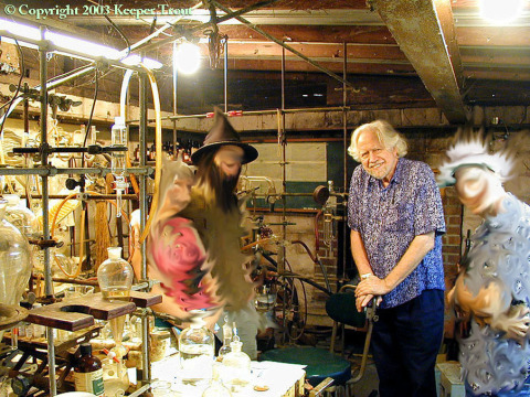 Sasha Shulgin & out-of-this-world friends circa 2003